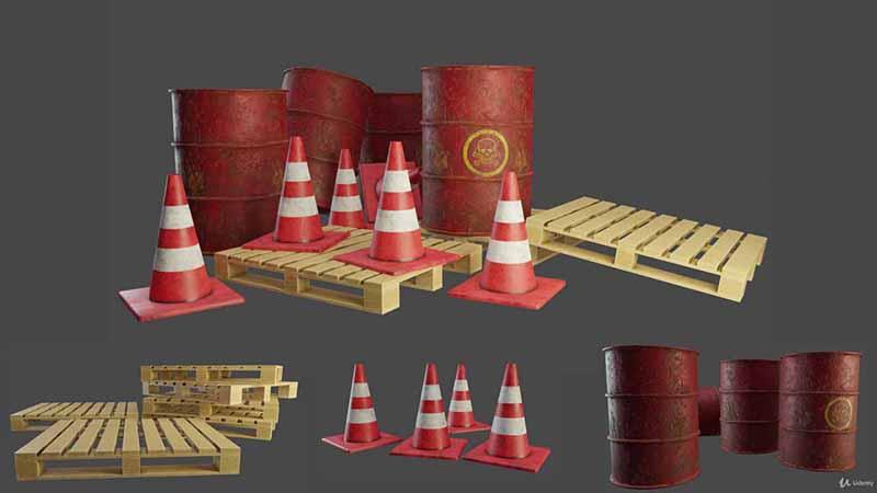 使用Blender2.8和SubstancePainter创建低精度游戏资源