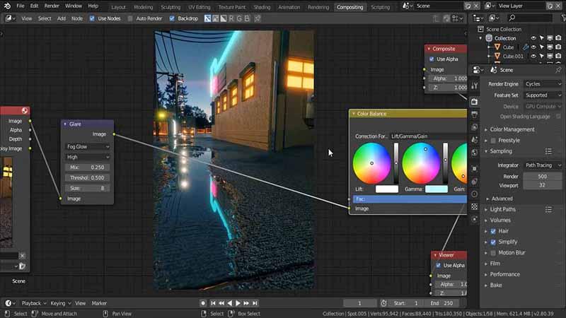 在Blender2.8中创建照片级外景