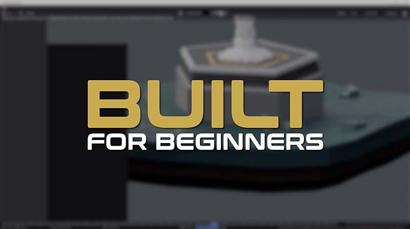 Blender2.8低模火箭与动画制作流程【初学者】