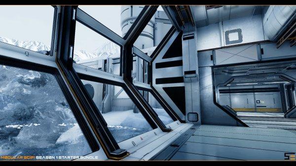 UE4 模块化科幻资源包第一季和第二季