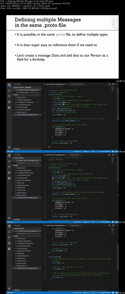 Protocol Buffers 3 完全教学【含Java,Golang,Python】