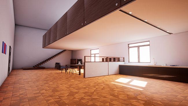 虚幻引擎:建筑可视化的全局照明