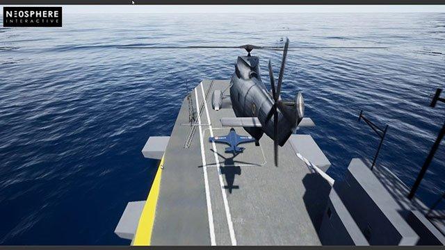 在虚幻引擎4蓝图中实现喷气式直升机