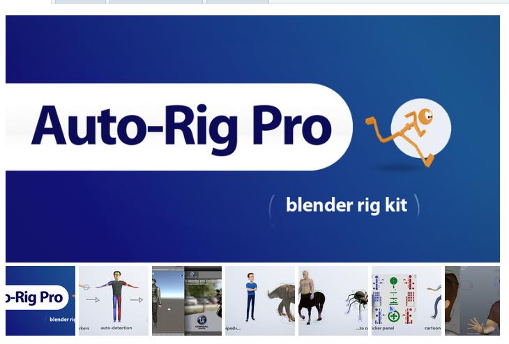 Blender插件:AutoRigPro