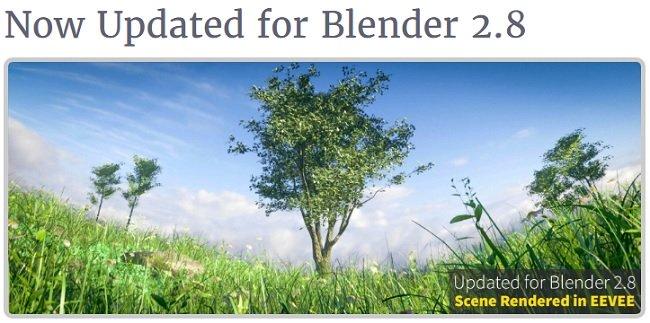 Blender Market-真实树木资源包