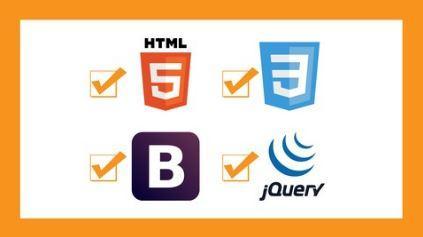 面向初学者的Web开发-HTML CSS BOOTSTRAP 和 JQUERY