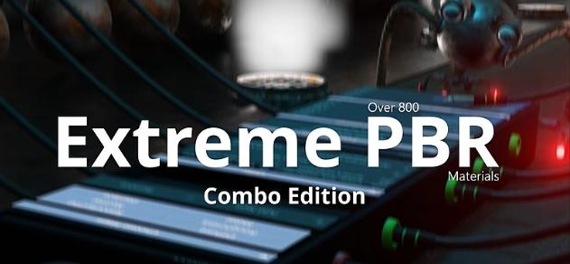 Blender Market-Blender2.8的终极PBR材质合集