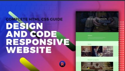 完整的HTML CSS指南设计和编码 实现响应式网站