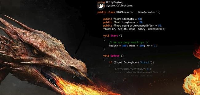 RPG核心战斗创造者学习中级Unity C#编码